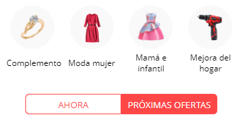Ofertas Flash Aliexpress